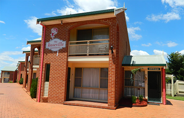 AAA 4 Star Rated Accommodation Tamworth - Roseville Apartments