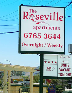 The Roseville Apartments - 2 Gipps Street Tamworth NSW 2340